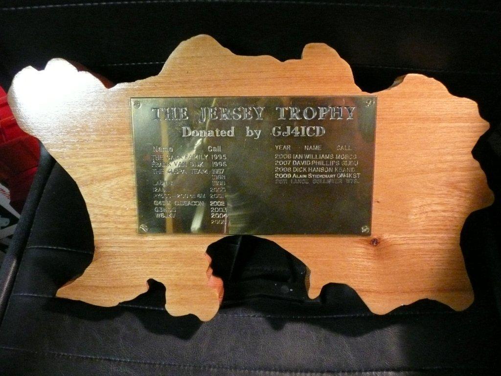 Jersey Trophy